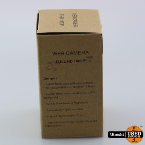WebCam 1080P Full HD