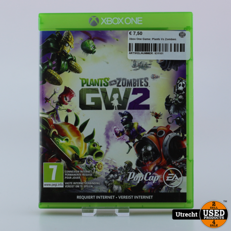 Xbox One Game: Plants Vs Zombies