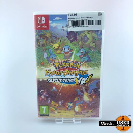 Nintendo switch Game: Mystery Dungeon Rescue Team DX