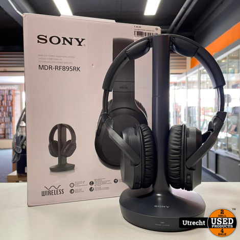 Sony MDR-RF895RK Draadloze Over Ear koptelefoon