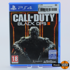 Playstation 4 Game: Call of Duty Black ops 3