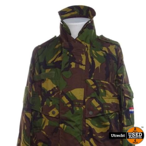 KL Nederlandse Leger Woodland Parka Maat 8000/0005 Origineel
