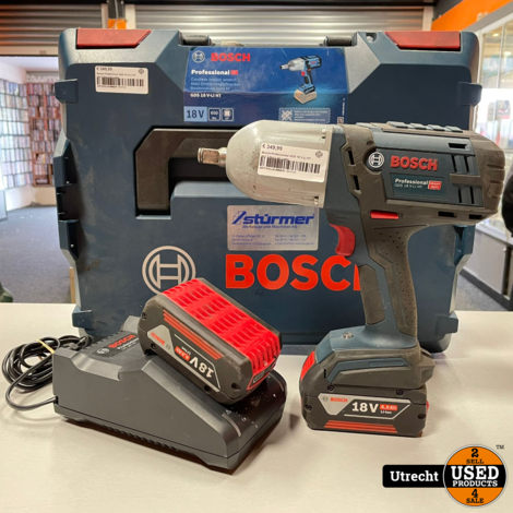 Bosch Professional GDS 18 V-LI HT incl 2 Accu en Lader
