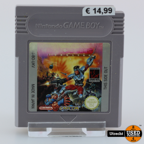 Nintendo Gameboy Game: Bionic Comando
