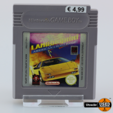 Nintendo Gameboy Game: Lamborghini American Challenge