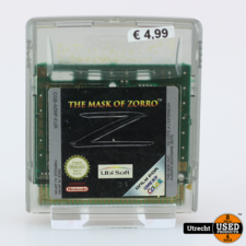 Nintendo Gameboy Color Game: The Mask of Zoro