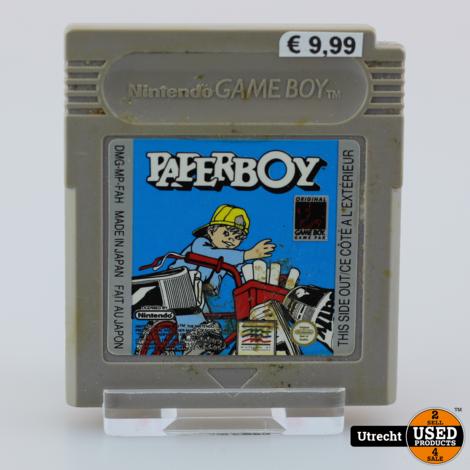 Nintendo Gameboy Game: Paperboy