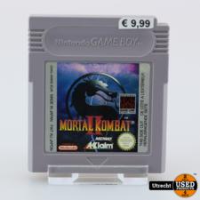 Nintendo Gameboy Game: Mortal Kombat 2