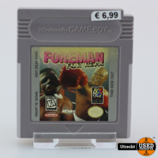 Nintendo Gameboy Game: Foreman For Real