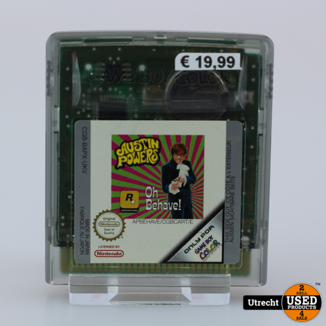 Nintendo Gameboy Color Game: Austin Powers