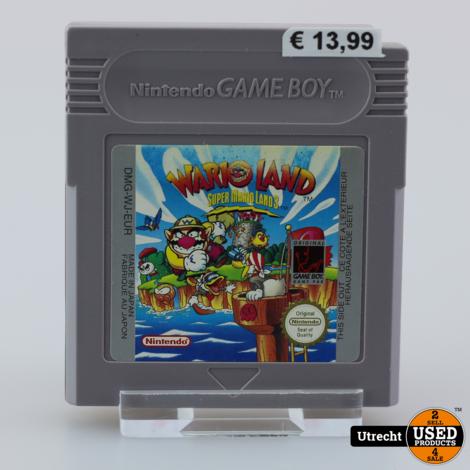 Nintendo Gameboy Game: Warioland Super Mario land 3