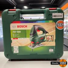 Bosch PST 650 Decoupeerzaag in koffer 500W Nieuw
