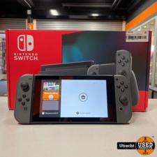 Nintendo Switch 2019 Revisie Gray Compleet