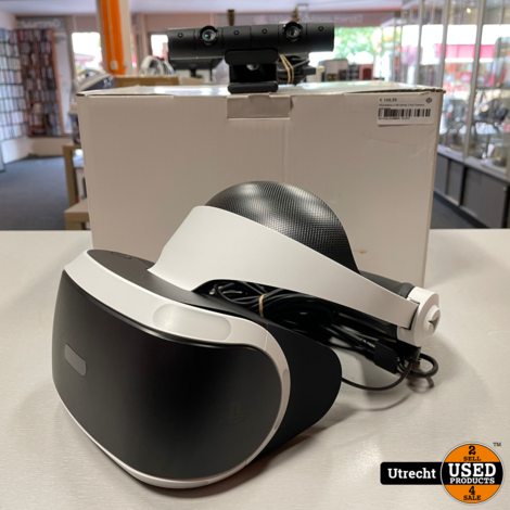 Playstation 4 VR Versie 2 Incl Camera Compleet