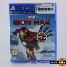 Playstation 4 Game Marvel Iron Man VR Nieuw