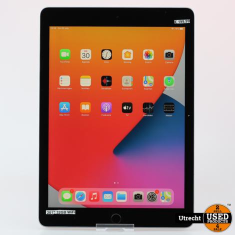 iPad 2017 32GB Wifi Space Gray | Nette staat