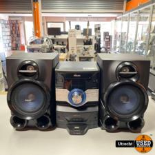 Philips FWM400D/12 Mini-HiFi-systeem CD/USB/Radio