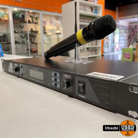 Devine WMD 168 UHF 600MHz Draadloze Microfoon