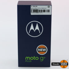 Motorola Moto G9 Plus 128GB Duos Navy Blue Nieuw