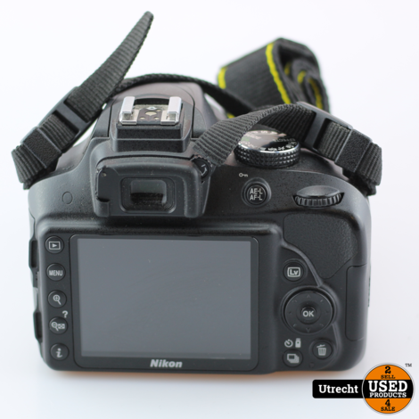 Nikon D3300 incl AF-P Nikkor 18-55MM 1:3.5-5.6G DX VR Cliks 2720