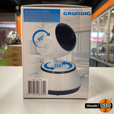 Grundig WiFi Security Camera 06762 Nieuw