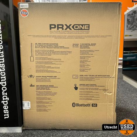 JBL PRX ONE Alles in één PA speaker met MIXER en DSP Nieuw uit Doos
