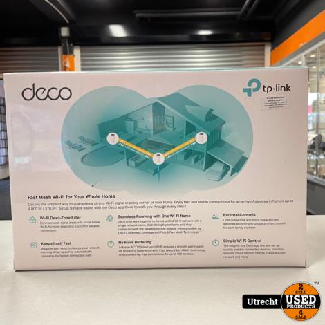 TP-Link Deco AC1200 Deco M4 WiFi versterker Nieuw