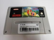 Nintendo SNES game: The Addams Family Pugsleys Scavenger Hunt
