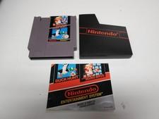 Nintendo NES game: Duck Hunt Super Mario Bros - Hoes en boekje