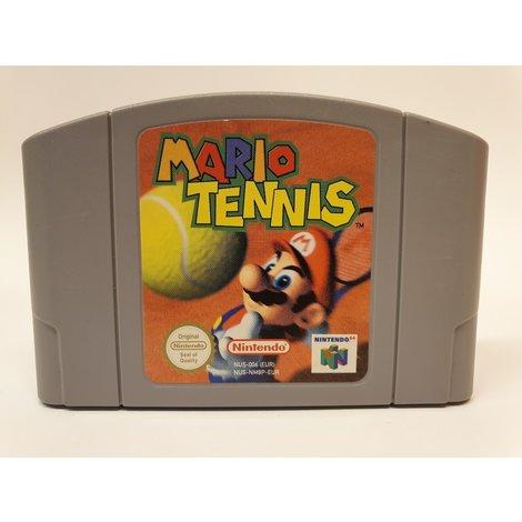 Nintendo 64 game: Mario tennis