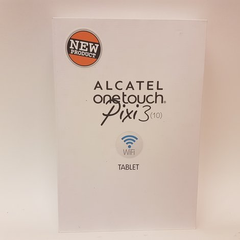 Alcatel One Touch Pixi 3 (10) 8GB Black #7 | Nieuw in doos