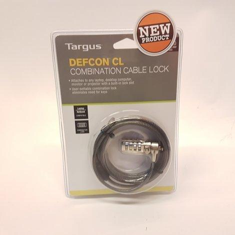 Targus Defcon CL Kabel Codeslot | Nieuw