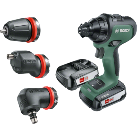 Bosch AdvancedDrill 18 Set Accuboor 2x 18Volt 2.5Ah Li-Ion + Koppen | Nieuw