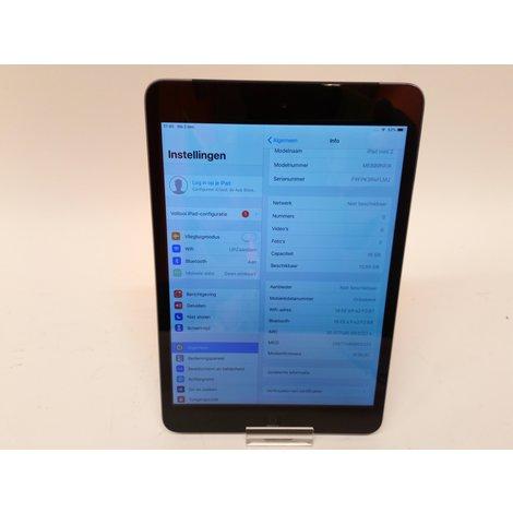iPad Mini 2 16GB Wifi + 3G Space Gray | Incl. garantie