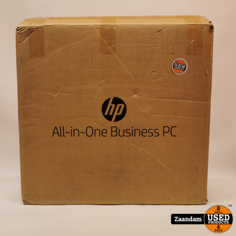HP EliteOne 800 G4 4KX23EA Zwart/Zilver - 23.8Inch i5 8GB 256GB SSD   Nieuw