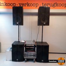 Electro Voice Professionele Party DJ Set
