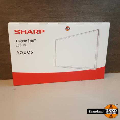 Sharp LC-40UG7252K UHD 4K Smart Televisie | Nieuw