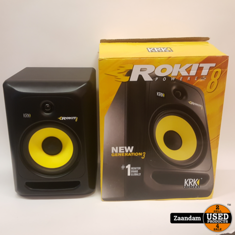 KRK Rokit RP8 G3 Studio Monitoren | In nette staat
