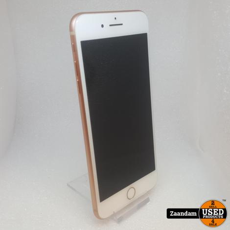 iPhone 8 Plus 64GB Rose Gold   Nette staat in doos