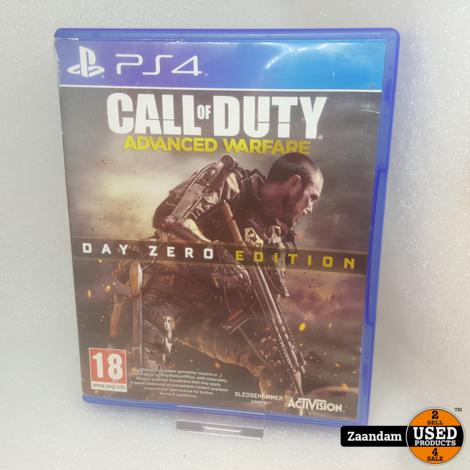 Playstation 4 Game: Call Of Duty Advanced Warfare Day Zero Edition