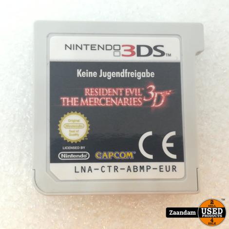 Nintendo 3DS Game: Resident Evil The Mercenaries