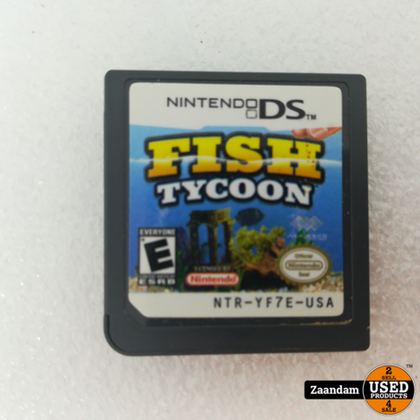 Nintendo DS Game: Fish Tycoon