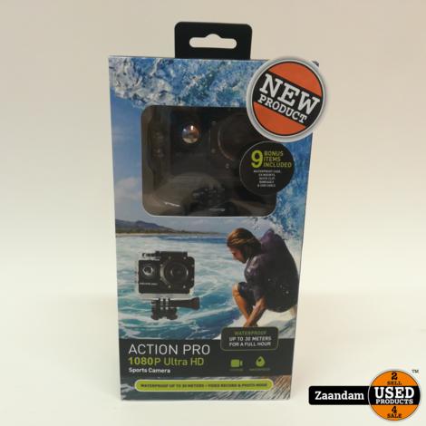 Action Pro 1080P Full HD Action Camera | Nieuw in doos