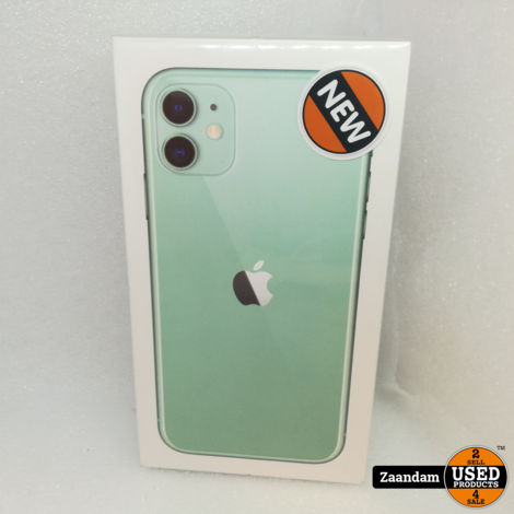 iPhone 11 64GB Green   Nieuw in seal