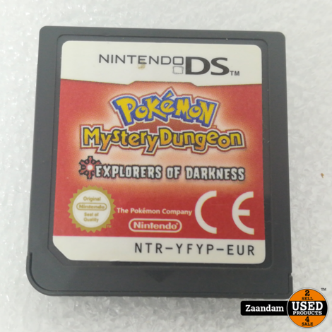 Nintendo DS Game: Pokemon Mystery Dungeon