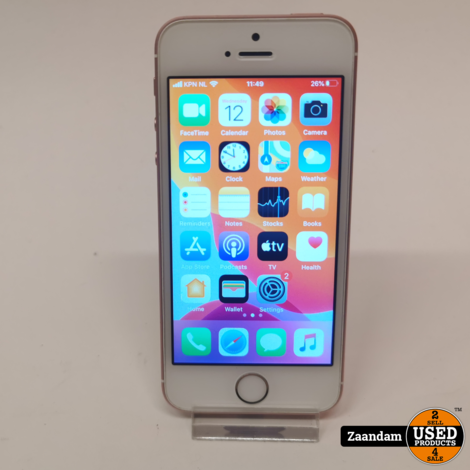 iPhone SE 32GB Rose Gold | In nette staat