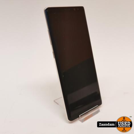 Samsung Galaxy Note 8 64GB Dual Sim Silver | Incl. garantie