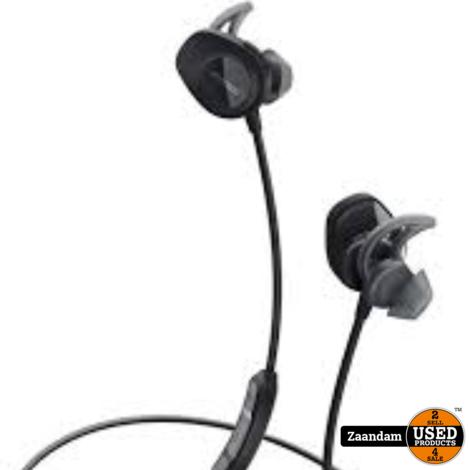 Bose Soundsport Wireless Earphones Zwart | Nieuw in seal incl. bon