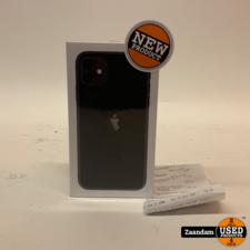 iPhone 11 256GB Black   Incl. garantie