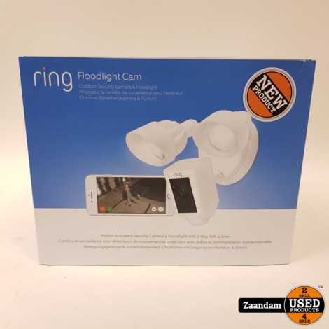Ring Floodlight Cam Outdoor Security Camera | Nieuw in seal